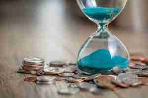 Time and Money (Hourglass)