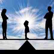 Divorce and parenting balance